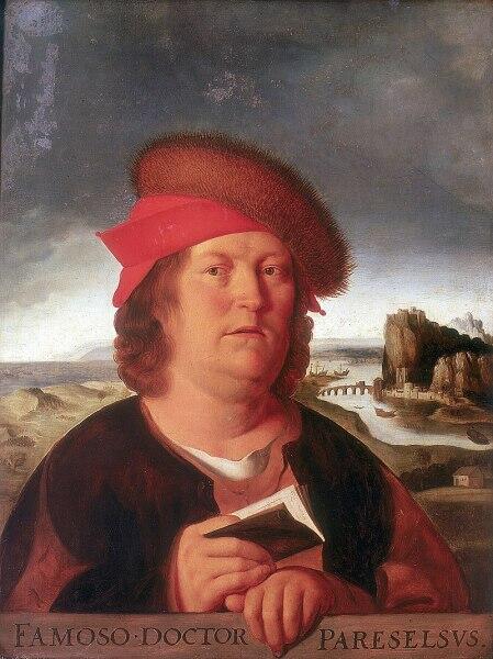 Парацельс— настоящее имя Филипп Ауреол Теофраст Бомбаст фон Гогенхайм