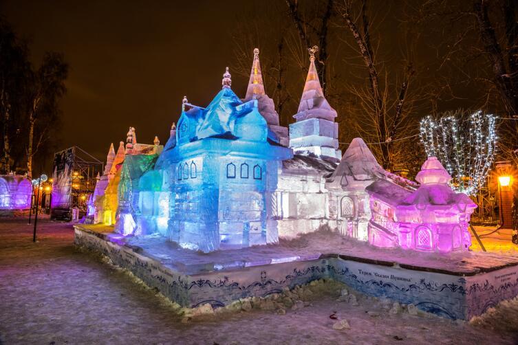 Сад «Эрмитаж», Москва, 2014 г.