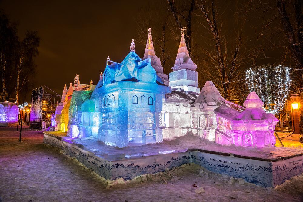 Сад «Эрмитаж», Москва, 2014г.