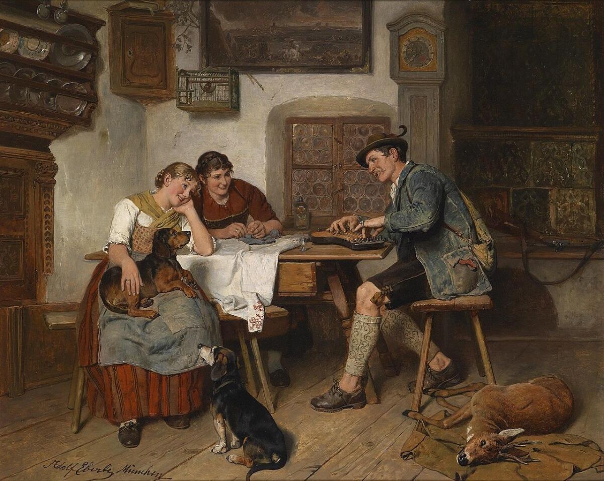 Адольф Эберле, «Музыка в Альпах»
