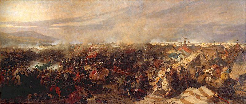 Юзеф Брандт, «Венская битва»