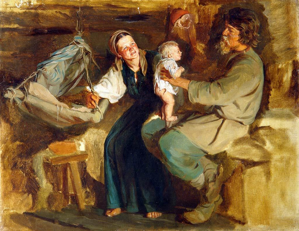 К. В. Лемох, «Родительская радость»