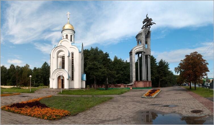 Памятник советским воинам-освободителям в Бобруйске