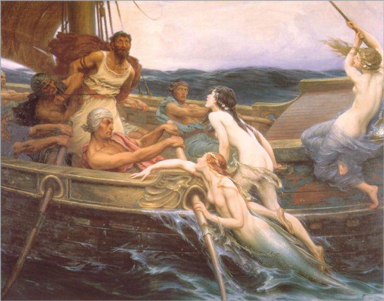 Герберт Дрейпер, «Одиссей и Сирены»