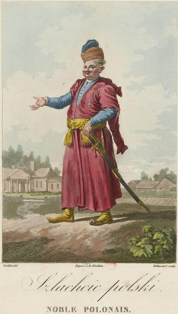 Норблен де ла Гурден, Жан Пьер, «Польский шляхтич»