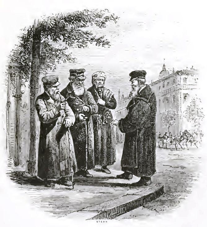 Евреи Одессы, 1876г.