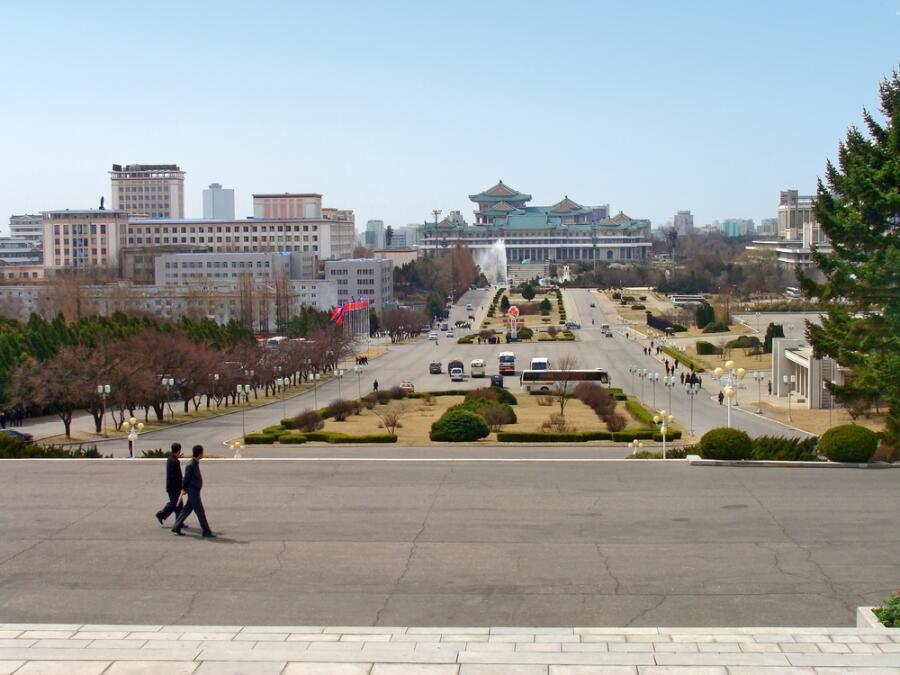 Пхеньян— столица Северной Кореи