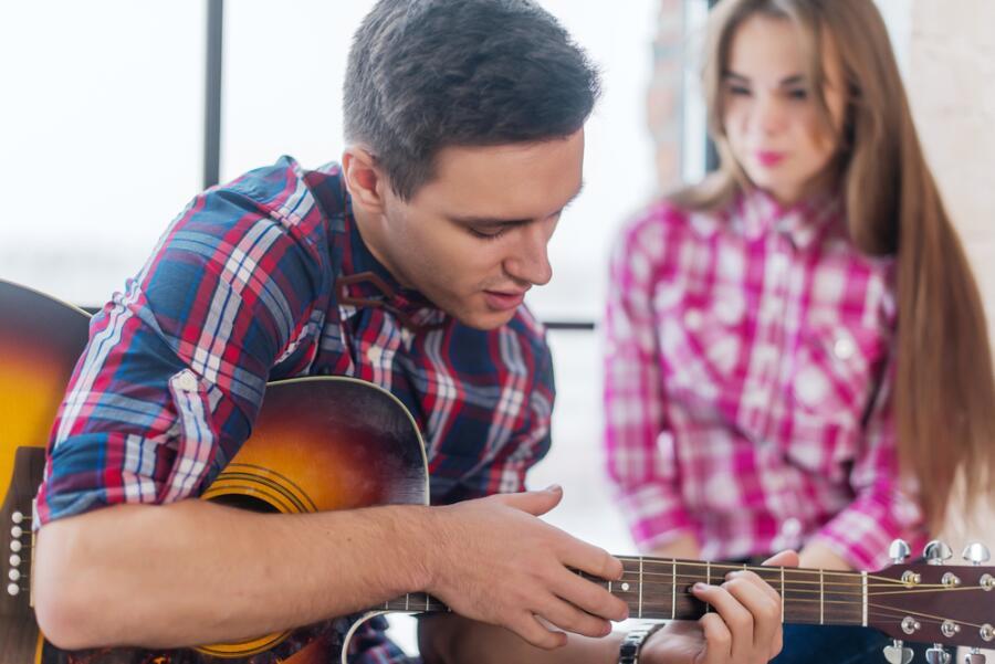 Игра на гитаре. Как угадать следующий аккорд аккомпанемента?