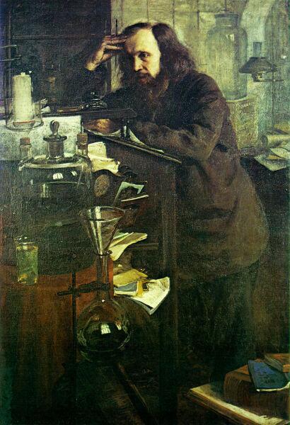 Н. А. Ярошенко, «Д. И. Менделеев», 1886 г.