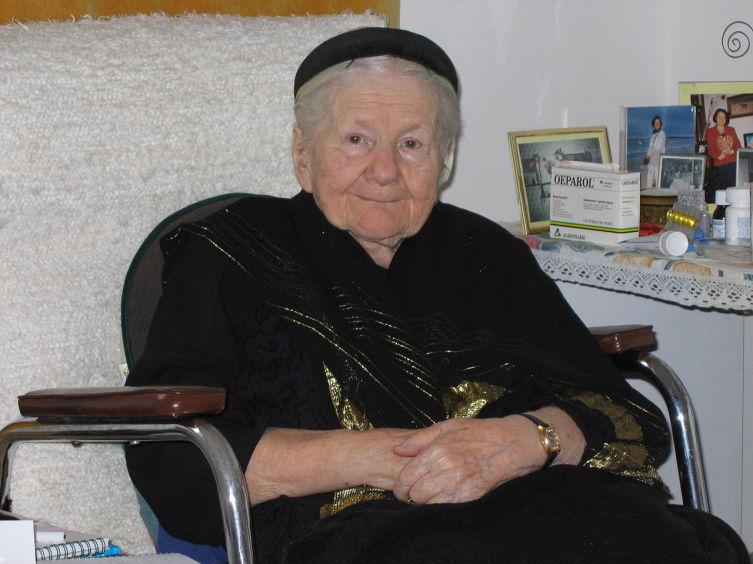 Ирена Станислава Сендлерова, 2005 г.