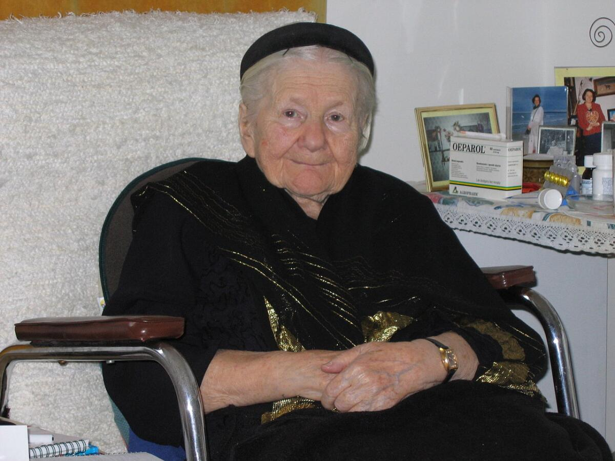 Ирена Станислава Сендлерова, 2005г.