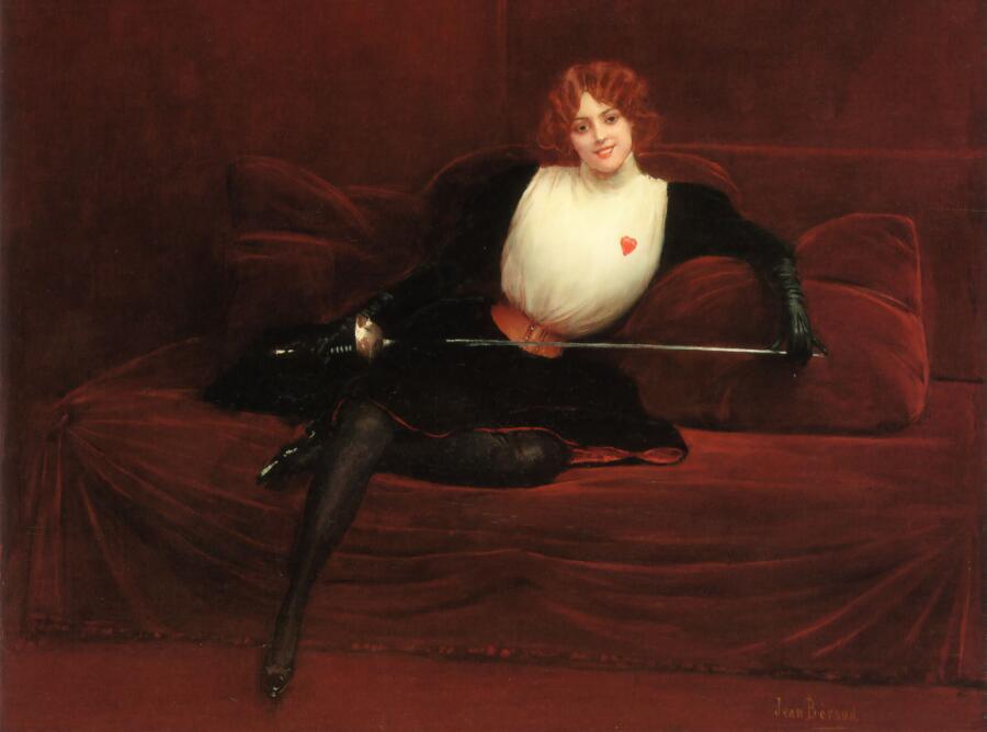 Жан Беро, «Девушка со шпагой»