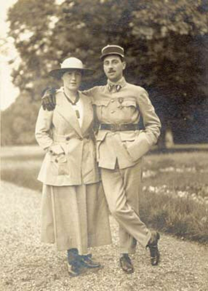 Брат и сестра, Беатриче и Ниссим де Камондо, 1916 г.