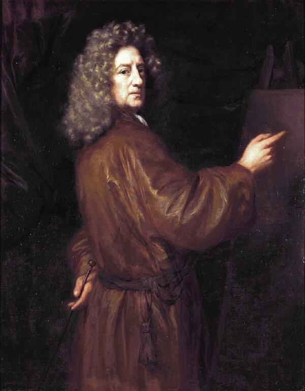 Николас Мас, «Автопортрет», 1625г.