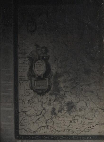 Николас Мас, «Домоправительница подслушивает», фрагмент «Карта»