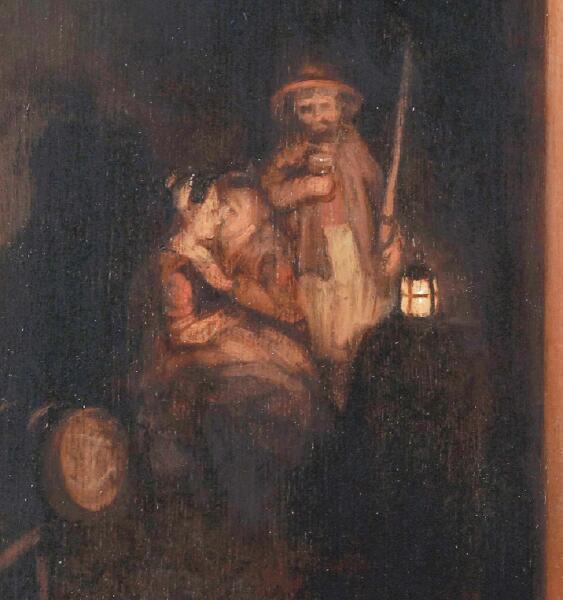 Николас Мас, «Домоправительница подслушивает», фрагмент «Влюбленные»