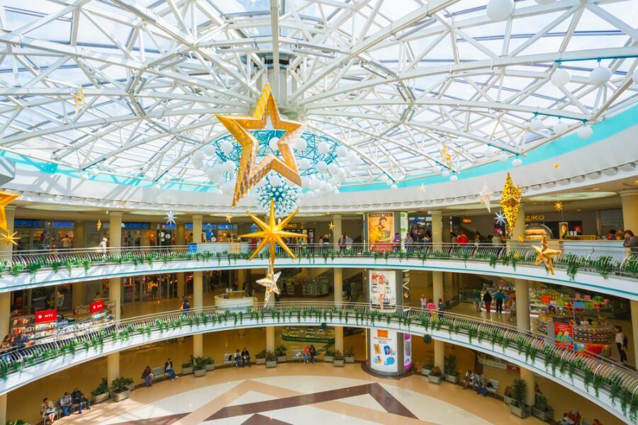 Торговый центр в Минске