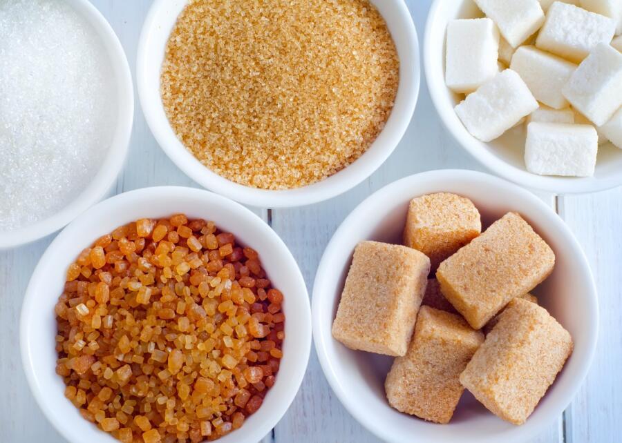 Виды и формы сахара