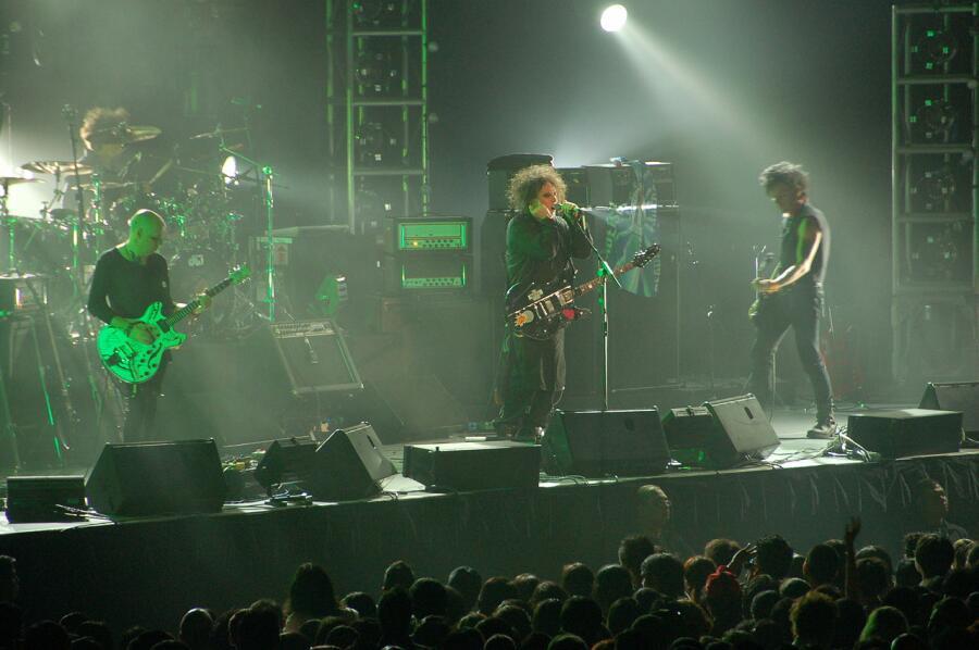 The Cure в Сингапуре, 2007г.