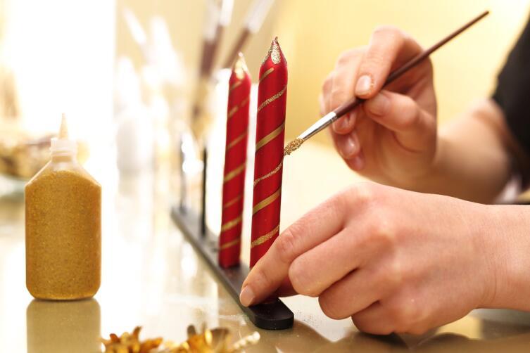 Как самостоятельно изготовить церковные свечи?