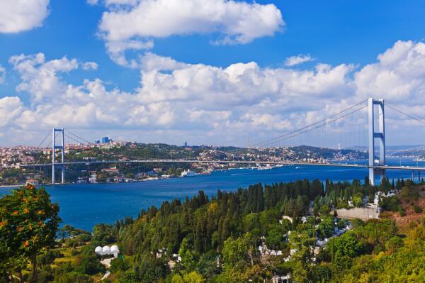 Пролив Босфор: откуда такое название? История воды и первого моста...
