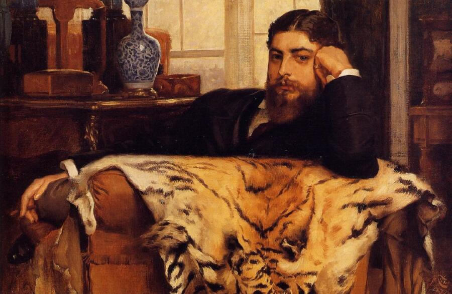 Джеймс Тиссо, «Портрет Алжернона Мозеса Марсдена», 1877г.