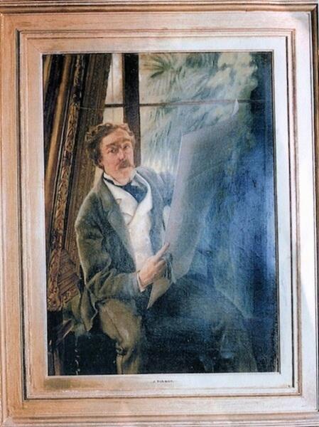 Джеймс Тиссо, «Портрет Эдварда Фокс Вайта»