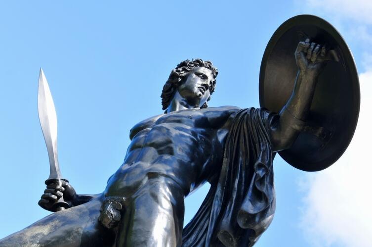 Статуя Ахилла в Гайд-парке, Лондон