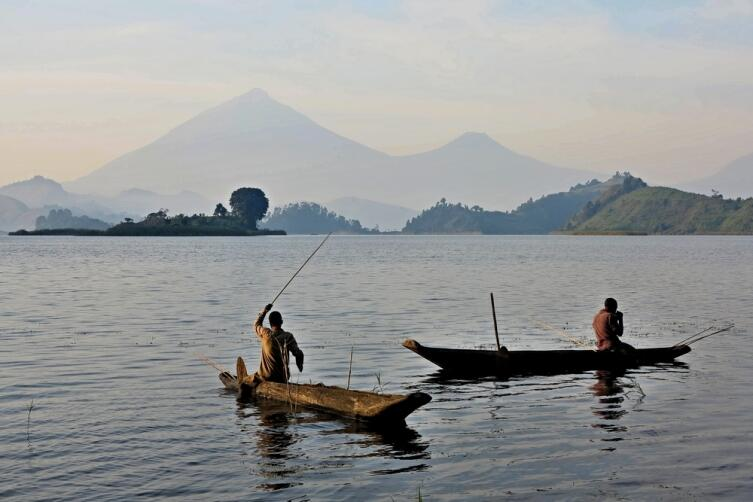 Рыбалка на реке Конго