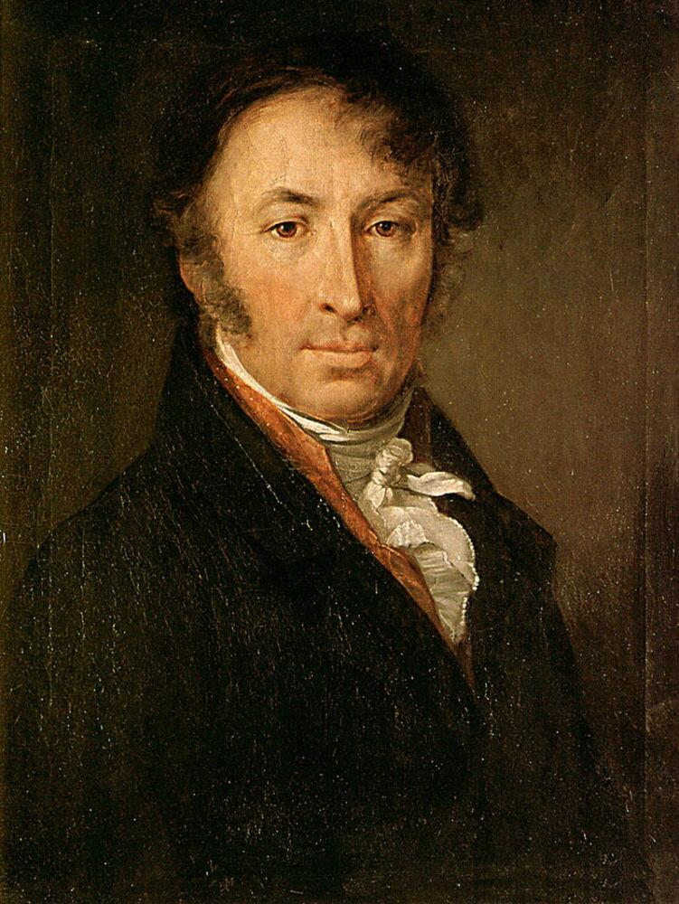 В. А. Тропинин, «Портрет Н. М. Карамзина»
