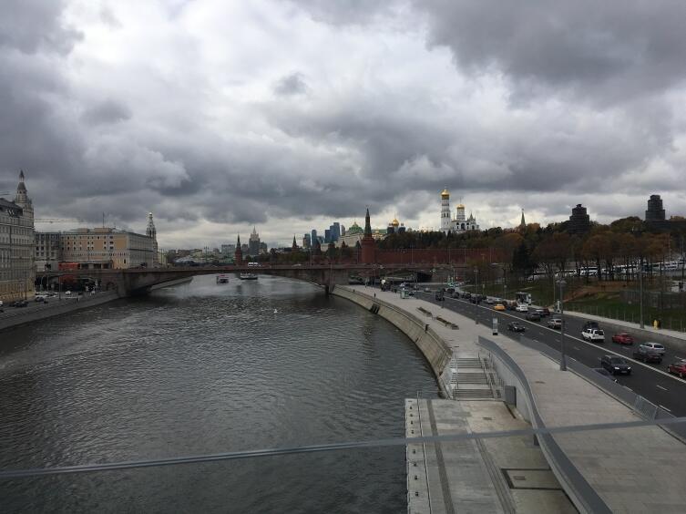 Вид с «парящего» моста