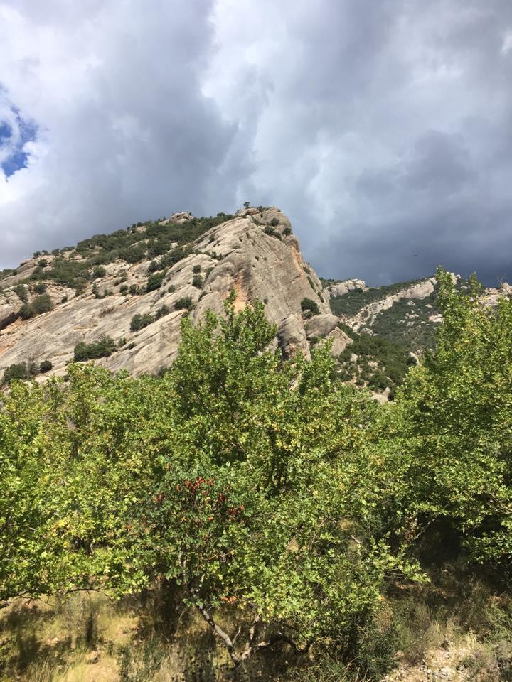 Живописные горы