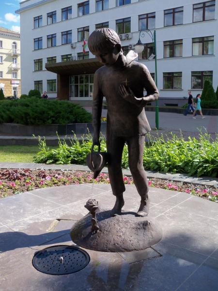 Андрей Воробьев, скульптура «Маленький принц»