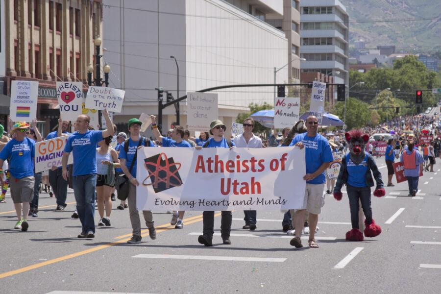 Марш атеистов штата Юта, 3июня 2012г.