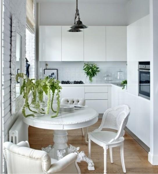 Как обустроить маленькую кухню? Дизайн на 5 кв. м.