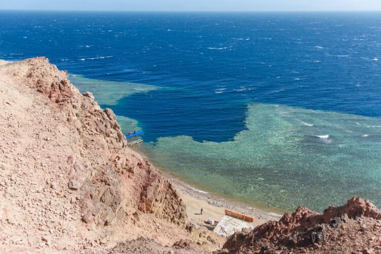 Голубая дыра в Дахабе, Египет
