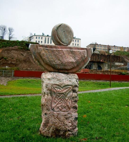 Владимир Пантелеев, скульптура «Разговор о вечном»