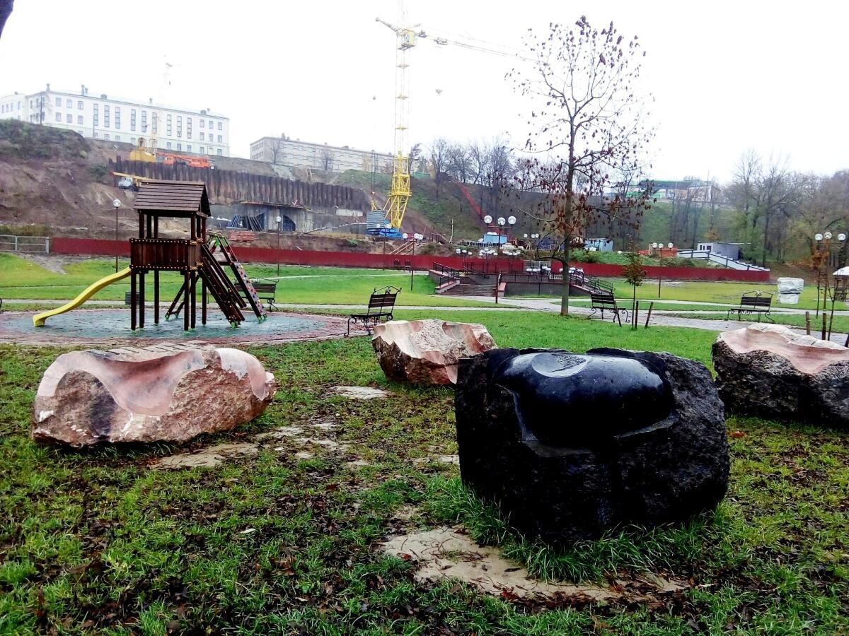 Джон Гогаберишвили, скульптурная композиция «Сила воды»