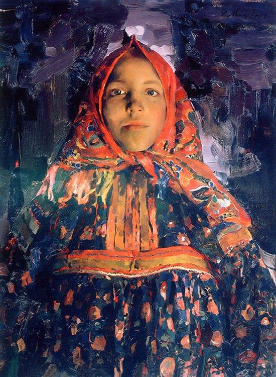 Филипп Малявин, «Верка», 1913г.
