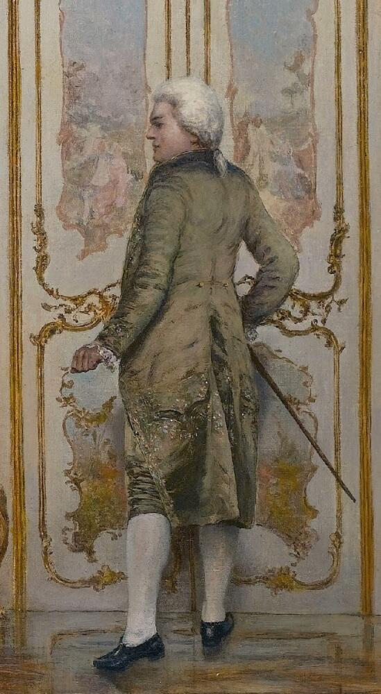 Витторио Реджанини, «Пренеприятное известие», фрагмент «Уходящий кавалер»