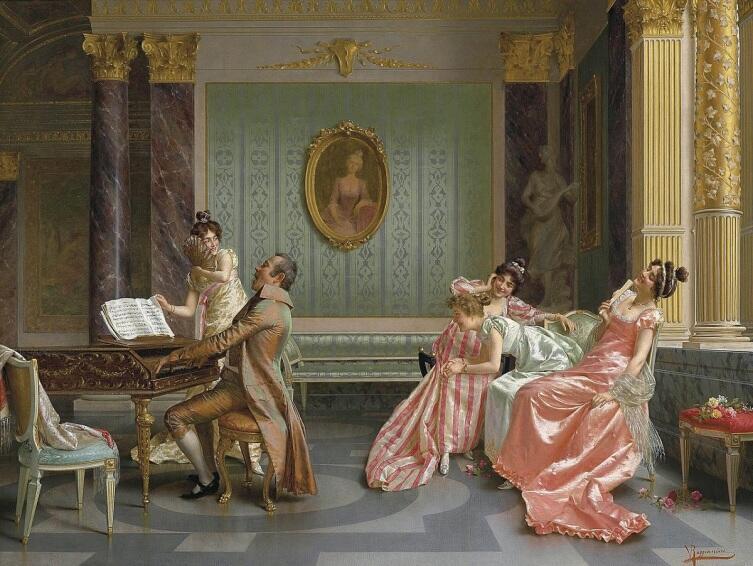 Витторио Реджанини, «Концерт»