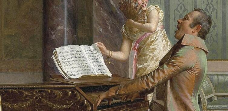 Витторио Реджанини, «Концерт», фрагмент «Музыкант»