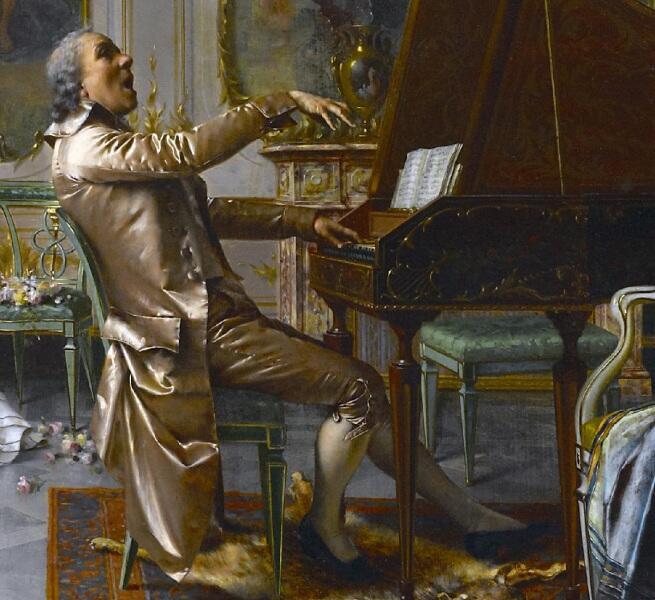 Витторио Реджанини, «Концерт для ценителей», фрагмент «Музыкант»