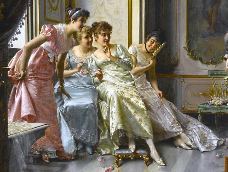 Витторио Реджанини, «Концерт для ценителей», фрагмент «Слушательницы»