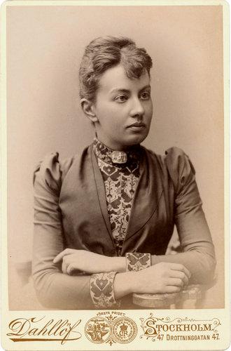 С. В. Ковалевская в 1880 г.