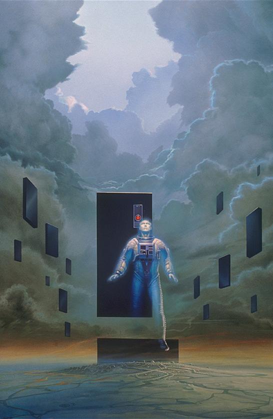 Майкл Уилан, «Робот смотрит на небо»