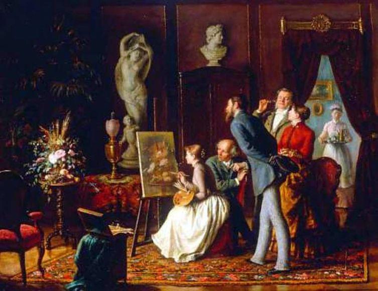 С. И. Грибков, «Таланты и поклонники», 1892 г.