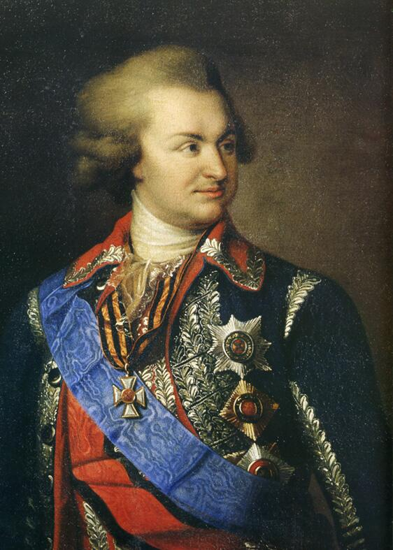 Иоганн Баптист Лампи Старший, «Светлейший князь Григорий Потёмкин-Таврический»