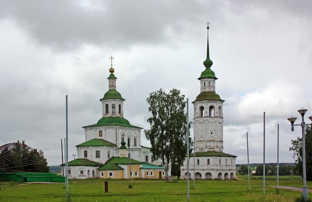 Храма во имя Николая Чудотворца (Николы Гостинского), Великий Устюг