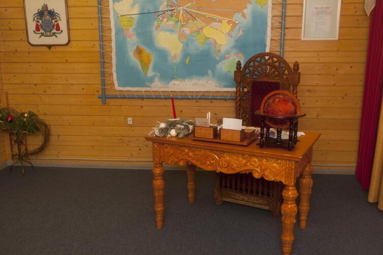 Интерьер рабочего кабинета Деда Мороза